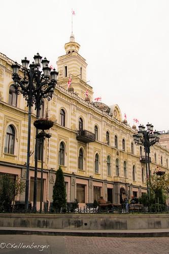 Freedom Square, Tbilisi, Georgia