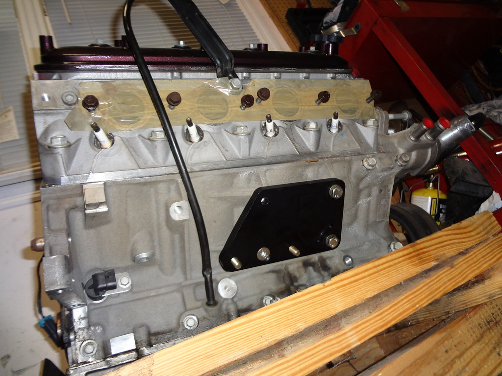 L33 5 3 Aluminum Block 243 Heads Flat Top Pistons Ls1