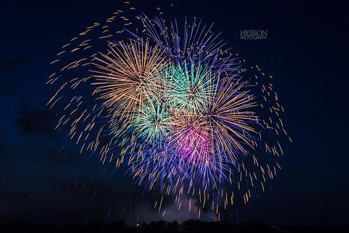 Calgary Stampede Fireworks 2012