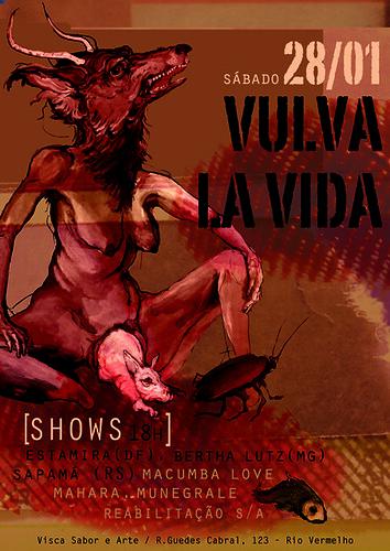 Vulva la Vida - shows