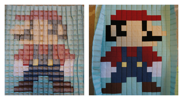 mario with adhesive backing