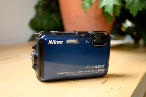 Nikon AW100 Coolpix. Waterproof. Shockproof. Point and Shoot.