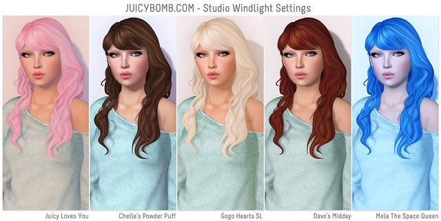JUICYBOMB.COM - Studio Windlight Settings