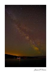 Sooke Dock Night Sky