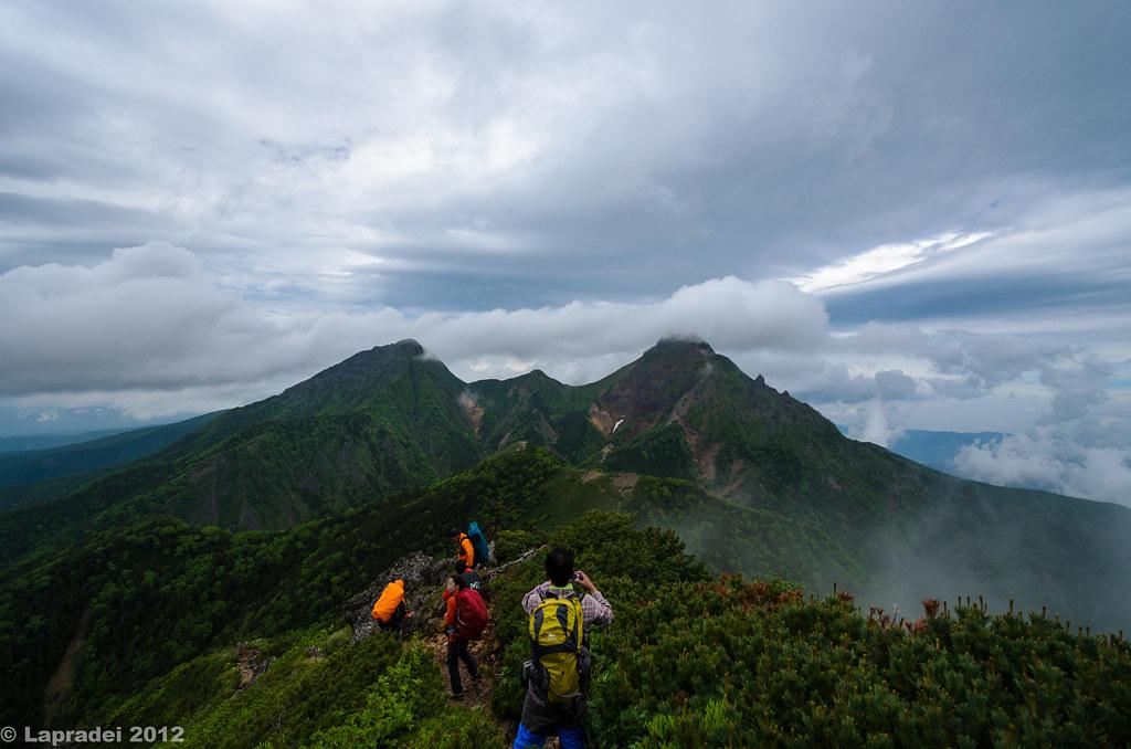 20120714 赤岳と阿弥陀岳
