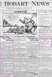 Front page, News, 8-28-1919