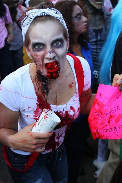Zombie Walk at San Diego Comic-Con 2012