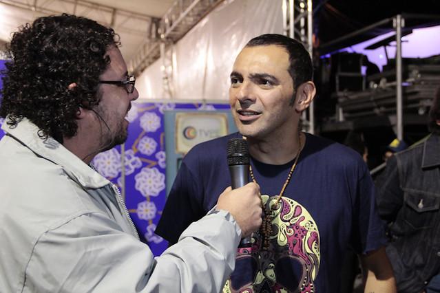 Ortinho apresentou o show O Cara do Outro Lado no FIG 2012