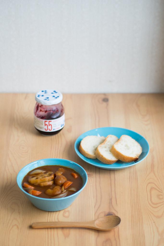 シチューとパン 2012/07/21 OMD11256