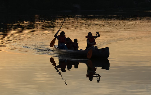 sunset lake minnesota night nikon minneapolis canoe 1001nights lightroom lakeoftheisles thegalaxy d5100 1001nightsmagiccity