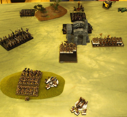 Battle 2 Vs Dark Elves  - Turn 4 Dwarfs