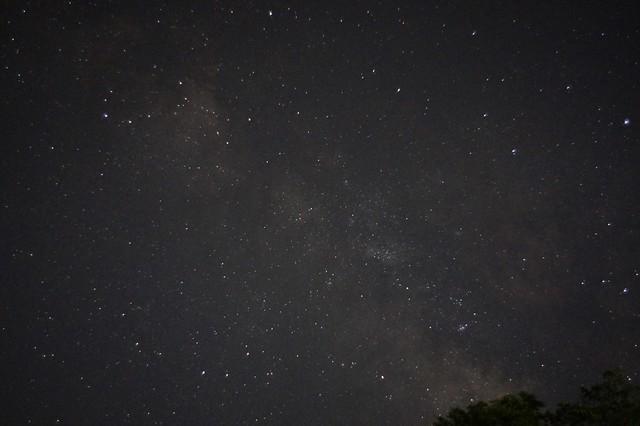 プラナーで星空散歩 銀河系中心部付近