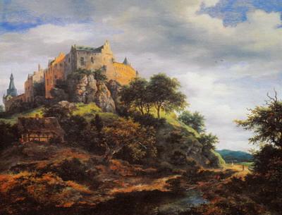 ベントハイム城の眺望