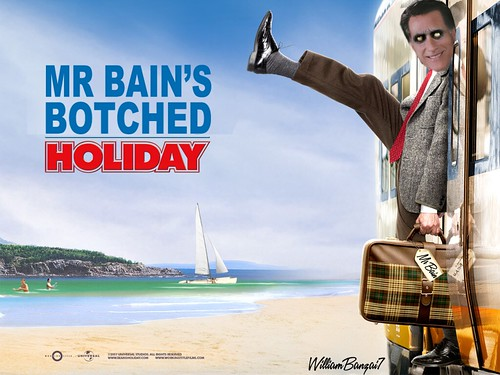 MR BAIN'S BOTCHED HOLIDAY by Colonel Flick