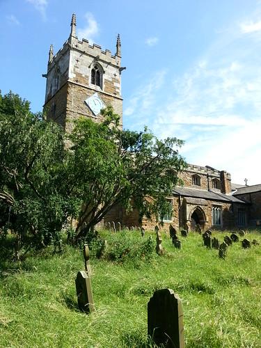 Wild meadow churchyard