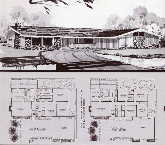 1964 flickr photo sharing for 1960s home floor plans