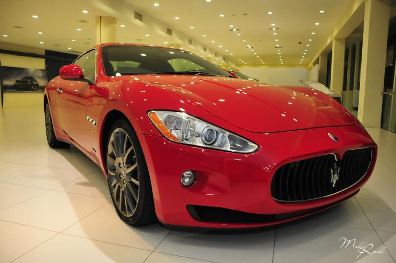 Maserati red 1