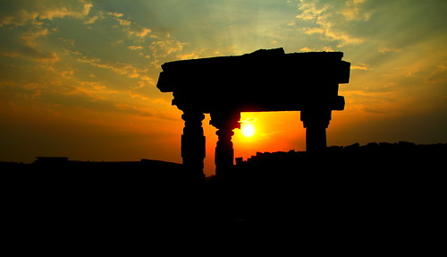 Hampi, India sunrise