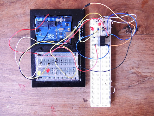 Arduino and lip-sync relay circuit