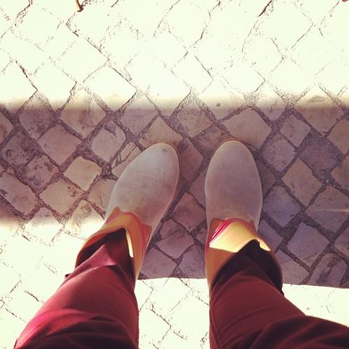 botas da madeira