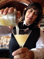 Margie Dmetroshko pouring a Between the Sheets 2