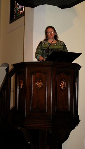 Military Wood Shop pulpit – Liberty chapel