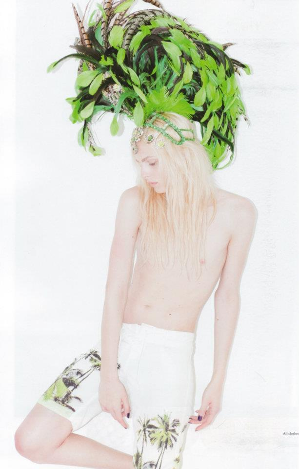 Andrej Pejic0723_Candy Magazine_Ph Bruno Ilogti(Homme Model)