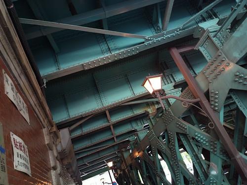 Tokyo, under the bridge