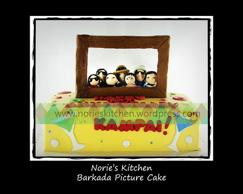 Norie's Kitchen - Barkada Picture Cake by Norie's Kitchen