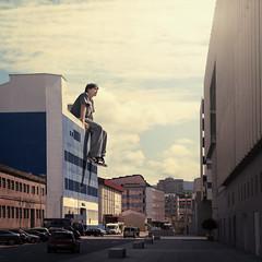 [フリー画像素材] グラフィック, フォトレタッチ, 男性, 巨人 ID:201208110400