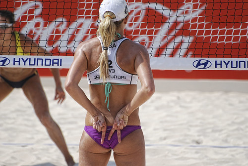 Jennifer Kessy/ Beach Volleyball.-