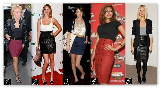 pencil-skirt-celeb-outfits-casual