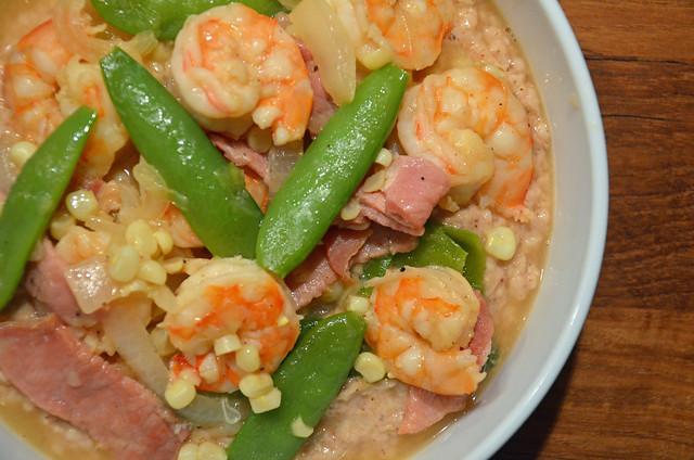 homemade shrimp & grits