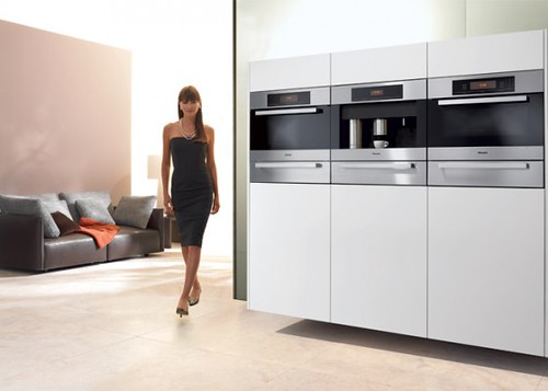 LUXURY HOME: Miele Built-In Coffee System