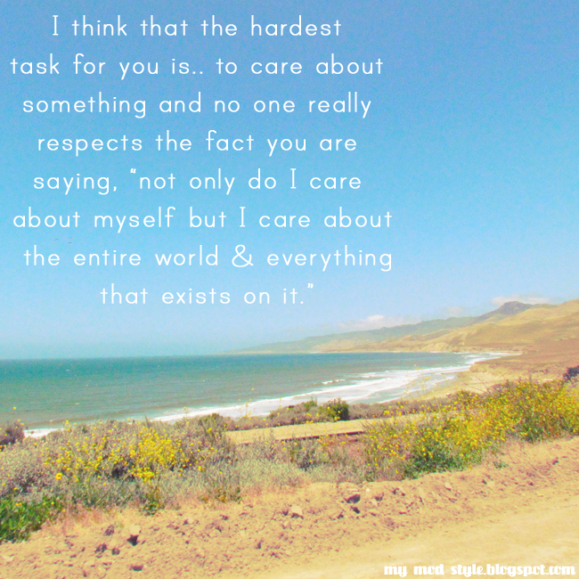 Ocean & Words