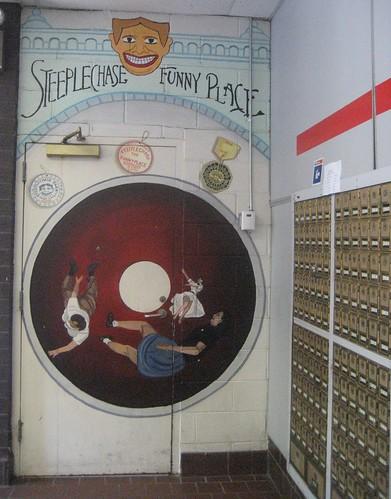 Steeplechase Mural