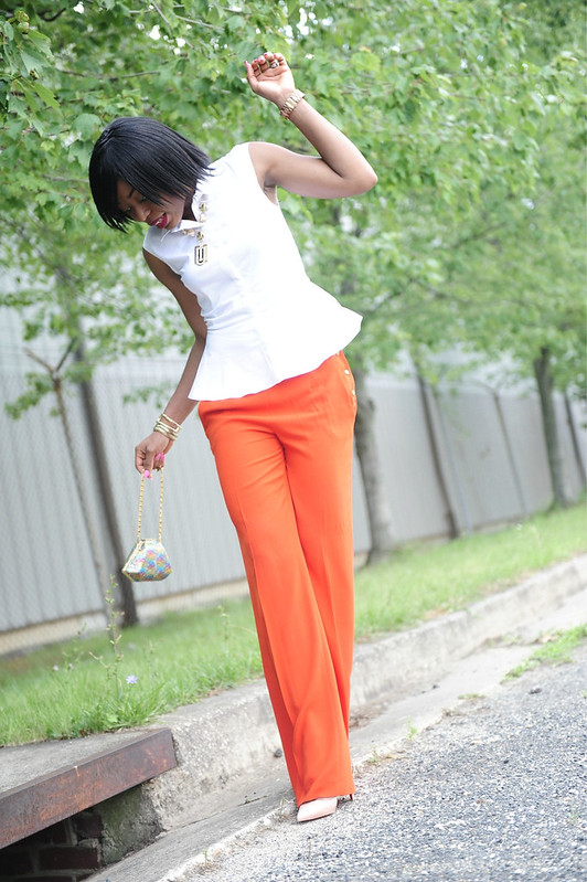 Peplum & Orange 1 by www.jadore-fashion.com