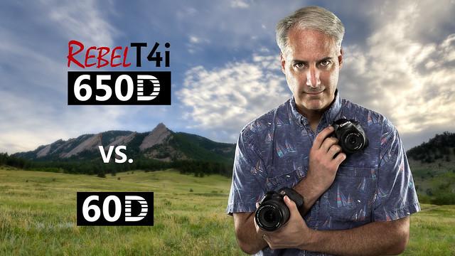 Canon T4i/650D vs 60D