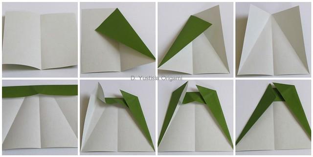 Totoro Origami Step 1-8