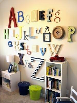 ABC wall