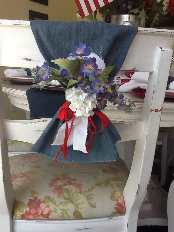 Awesome Denim Tablescape Ideas