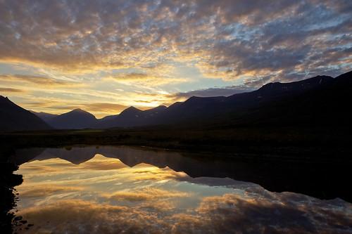 sunset sky reflection clouds iceland pond ísland ský himinn tjörn speglun sólsetur 25faves fáskrúðsfjörður faskrudsfjordur jónínaguðrúnóskarsdóttir