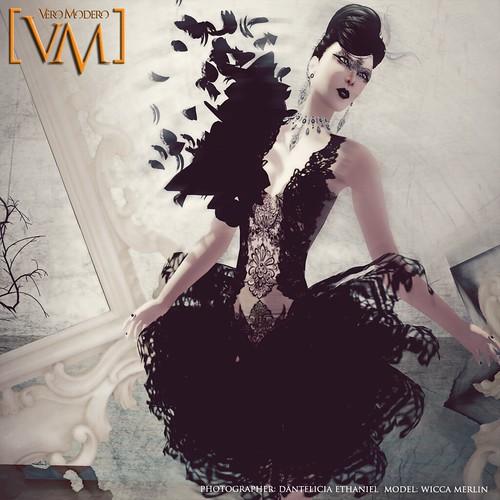 [VM] VERO MODERO MERLIN MYST DRESS