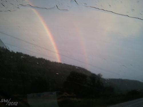 Double Rainbow #3