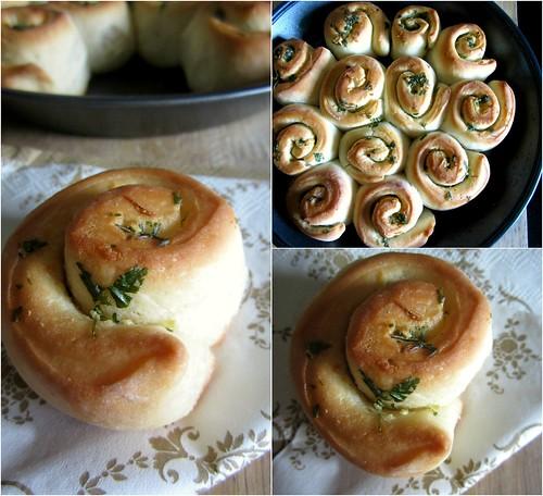 Garlic Pull-apart Rolls