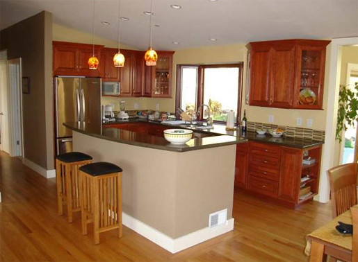 Small elegant kitchen renovation fresh meadows new york for New kitchen renovation