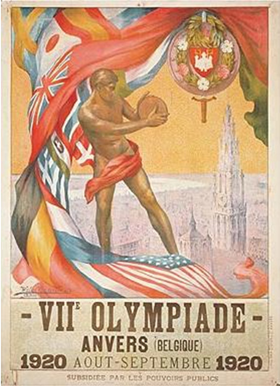 Olympic Games posters on display in libraries