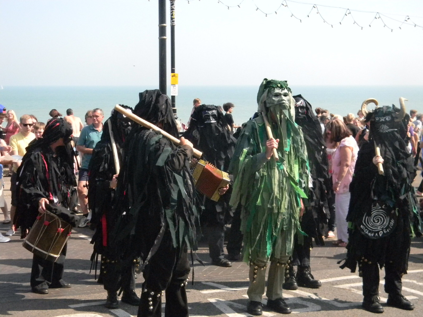 Spot the Saturday Walker Margate to Broadstairs Broadstairs Folk Week
