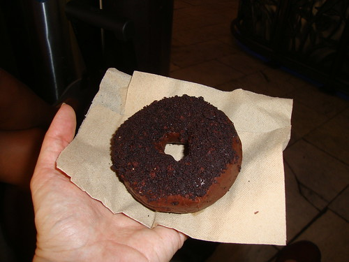 blackout doughnut from Doughnut Plant