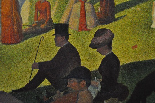 A Sunday on La Grande Jatte (Detail)